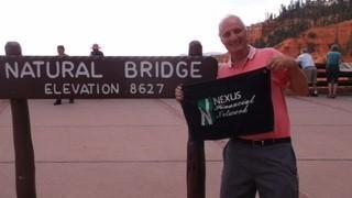 Russ Scott at Natural Bridge